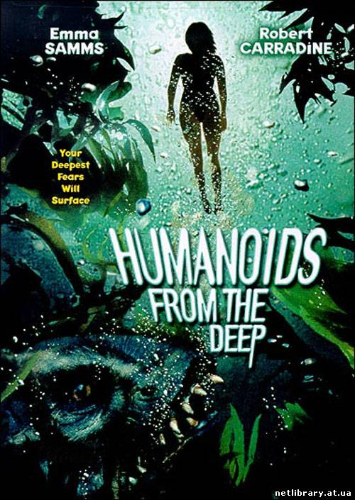 Тварюки з безодні / Humanoids from the Deep (1996) укр дубляж онлайн